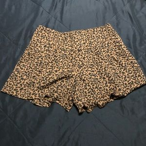 LOFT Leopard Lovely Shorts
